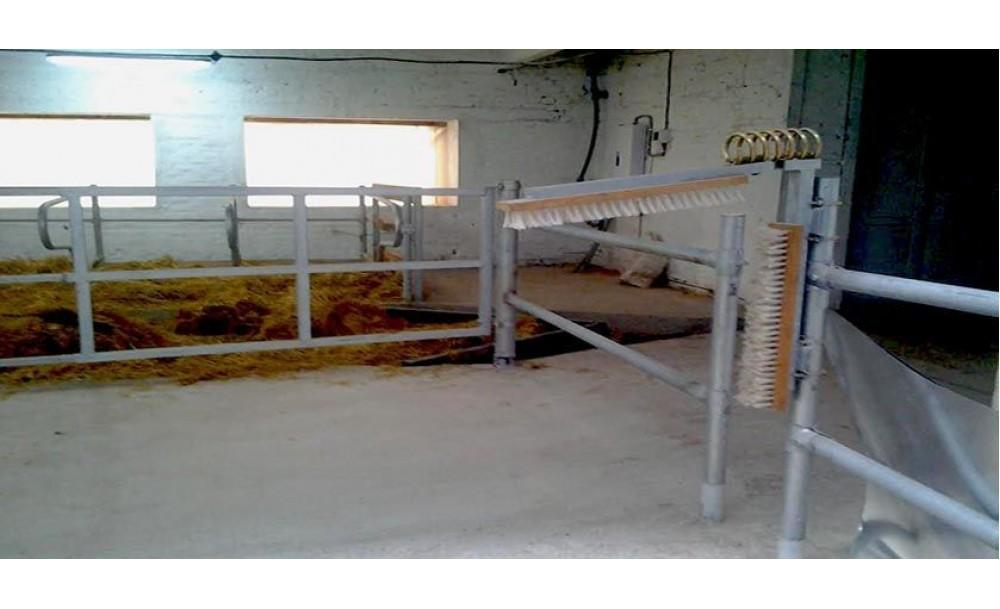 Установка для чесання корів ПЧК