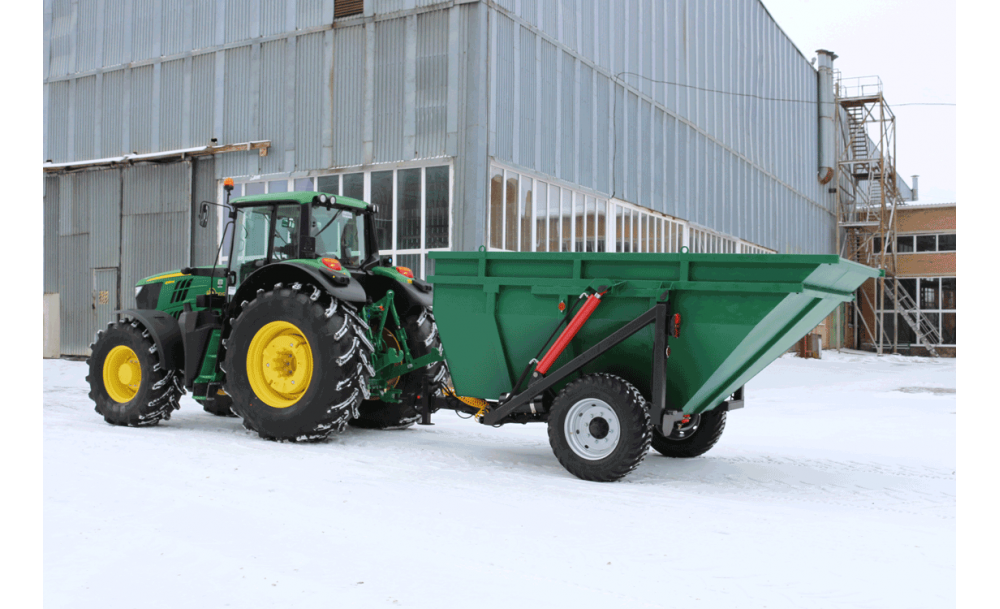 Напівпричіп тракторний самоскидний